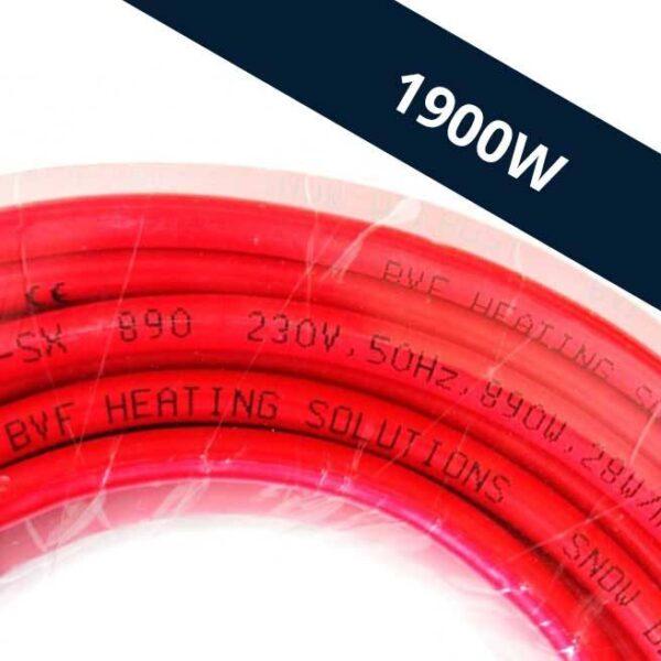 BVF SX kültéri fűtőkábel 68,1m 1900W