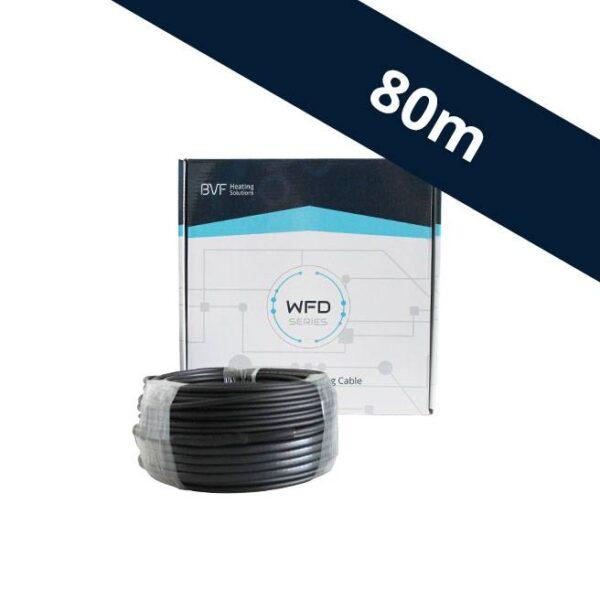 WFD 20 fűtőkábel 80m