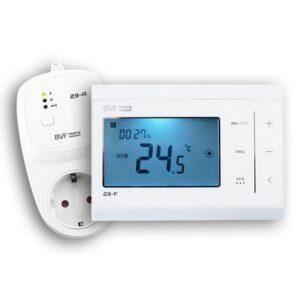 BVF 23-FA - RF termosztát hálózati csatlakozóval
