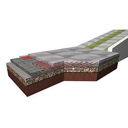SX kábel beton burkolathoz