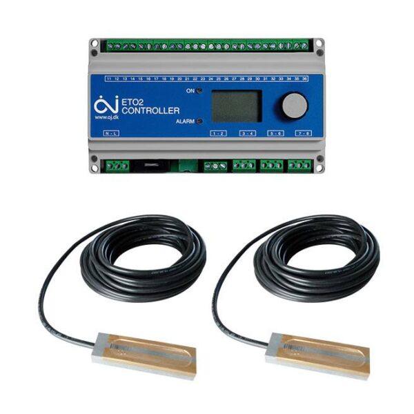 ETO2 termosztát + 2x ETOR55 szenzor