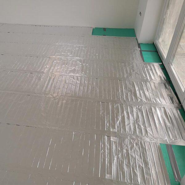 BVF L-PRO házilagosan kivitelezhető padlófűtés