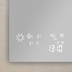 BVF Adelig okostükör, időjárás előrejelzéssel
